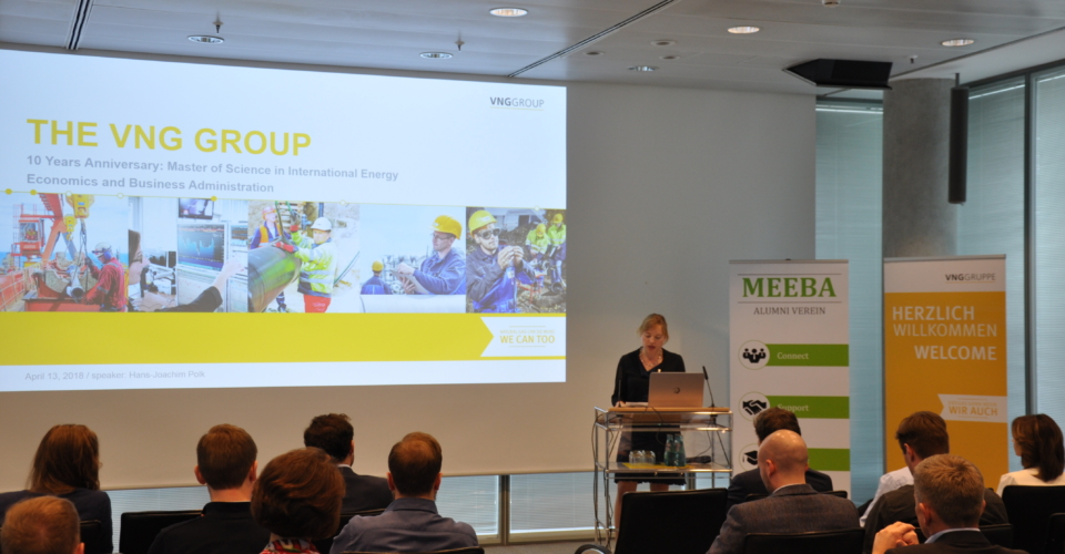Anett Ludwig gives a first hand account of her MEEBA experience